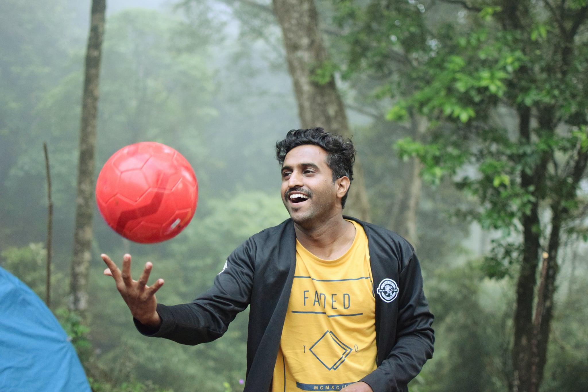 soccer en pente